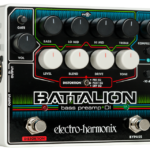【レビュー】Electro-Harmonix BATTALION エレハモが新たなベースプリアンプをリリース!
