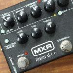 【レビュー】絶対的定番ベース用プリアンプ MXR M80 Bass D.I.+ の実力