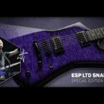 ESP LTD SNALEBYTEを発表 メタリカのジェームス・ヘットフィールドとのコラボ作