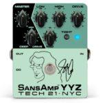 Tech 21、ゲディ・リーシグネイチャーペダルSansAmp YYZ を発表!