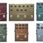 Fender コーラス、トレモロなど6つの新たなエフェクターペダルを発表!