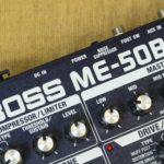 BOSSのベース用マルチエフェクターの種類や違い、おすすめモデル紹介